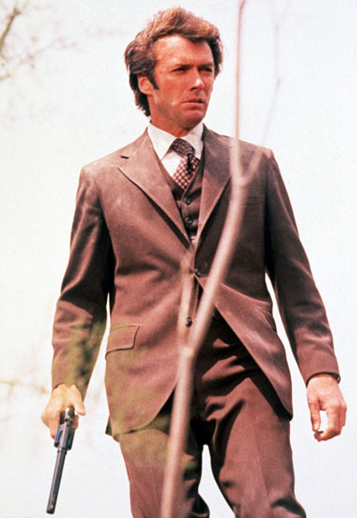 Clint Eastwood in Dirty Harry. 1971. USA. Directed by Don Siegel. Image courtesy Photofest