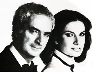 Massimo and Lella Vignelli.  Photograph by Barry McKinley. Courtesy AIGA