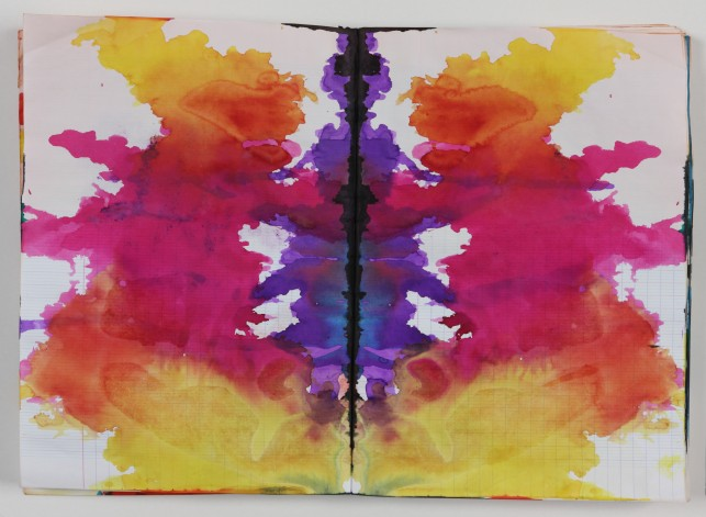 MoMA_Polke_Untitled_Rorschach