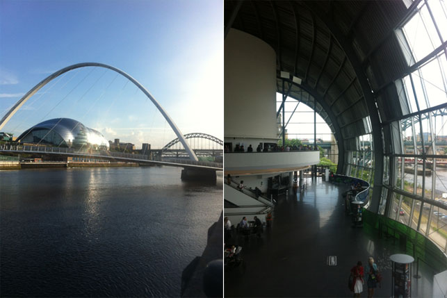 Sage Gateshead, one of the venues for MuseumNext 2014. Photo: Marietta Zafirakos