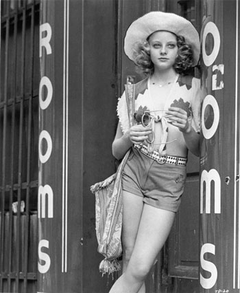 Jodie Foster in Taxi Driver. 1976. USA. Directed by Martin Scorsese