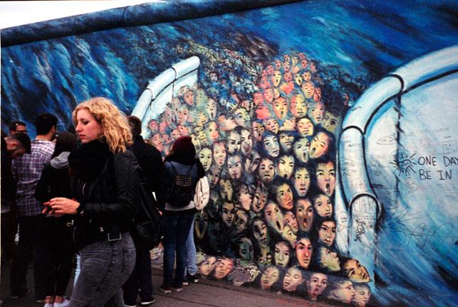 East Side Gallery/Berlin Wall, Berlin, Germany, May 26, 2014. Photo: Cindy Yeh