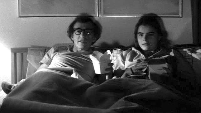 Woody Allen and Mariel Hemingway in Manhattan. 1979. USA. Directed by Woody Allen