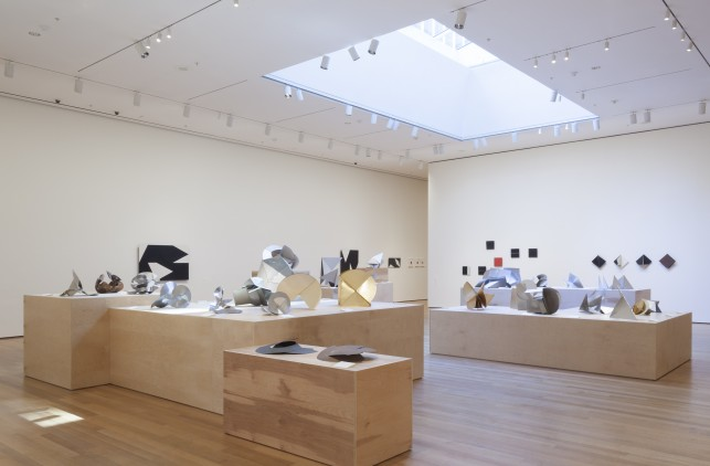 Installation view of Lygia Clark: The Abandonment of Art, 1948-1988 at The Museum of Modern Art, New York (May 10–August 24, 2014). Photo: Thomas Griesel