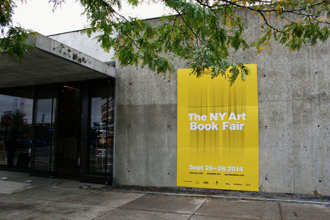 NY Art Book Fair at MoMA PS1. All photos by Gretchen Scott