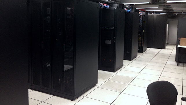 MoMA's data center. Photo: Ben Fino-Radin
