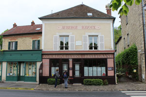 Auberge Ravoux Inn, where Van Gogh lived for the last few months of his life. Photo by Alex Roediger