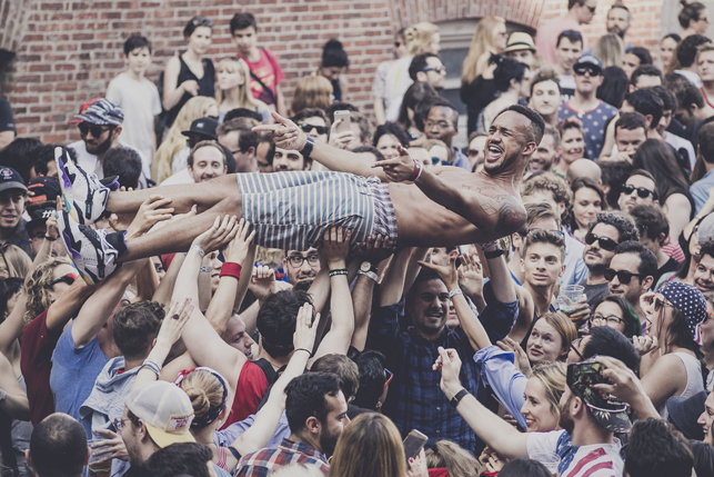 MoMA PS1 Warm Up, Saturday, July 4, 2015. Photo: Charles Roussel