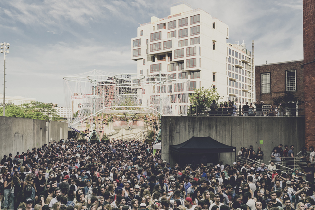 COSMO, MoMA PS1 Warm Up, Saturday, July 4, 2015. Photo: Charles Roussel