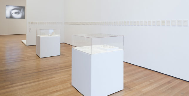 Installation view of Yoko Ono: One Woman Show, 1960–1971, The Museum of Modern Art, New York, May 17–September 7, 2015. © 2015 The Museum of Modern Art. Photo: Thomas Griesel