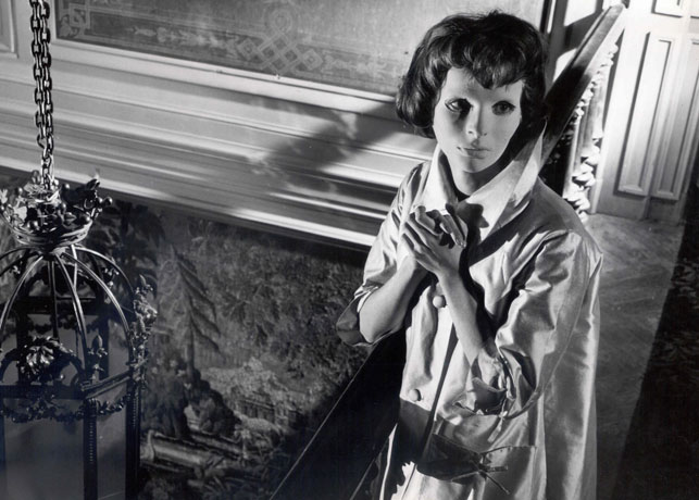Edith Scob in Eyes without a Face. 1960. France/Italy. Directed by Georges Franju. Courtesy Rialto Pictures
