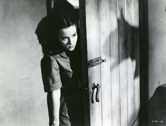Margaret Landry in The Leopard Man. 1943. USA. Directed by Jacques Tourneur