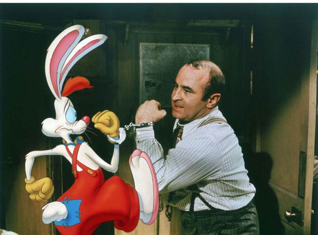 Who Framed Roger Rabbit 1988. USA. Directed by Robert Zemeckis. Courtesy of Photofest