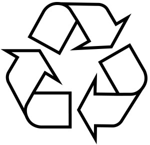 Gary Anderson. Recycling Symbol. 1970
