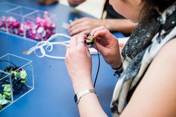 littleBits. Courtesy of littleBits. Photo: Louis Seigal
