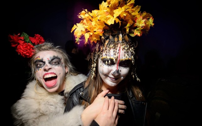 Halloween Ball at MoMA PS1, 2014. Image courtesy of MoMA PS1