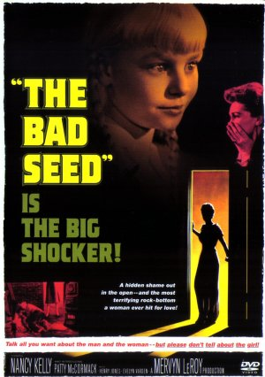 Poster for the DVD release of The Bad Seed. © Warner Bros.