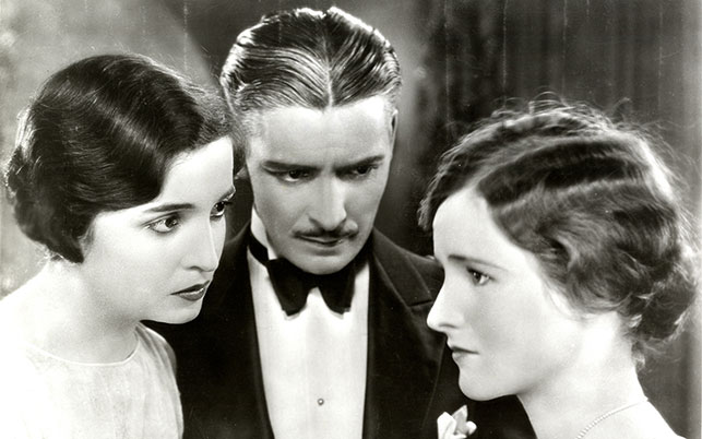 Alice Joyce, Ronald Colman, and Lois Moran in Stella Dallas. 1925. USA. Directed by Henry King. MoMA Film Archives