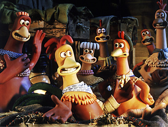 Chicken Run. 2000. USA. Directed by Nick Park, Peter Lord. Courtesy of Dreamworks/Photofest