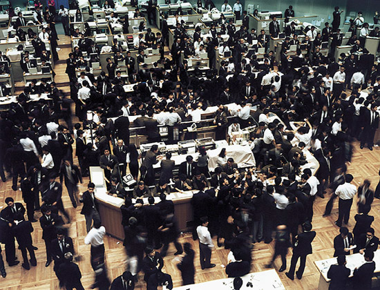 Andreas Gursky: Tokyo Stock Exchange