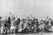 Thumbnail Refugees Performing Exercises, Kurukshetra, India