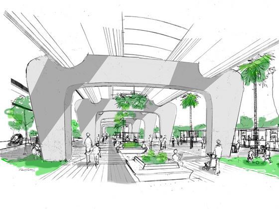 Elevation Plan Scale : Moma small scale big change manguinhos complex