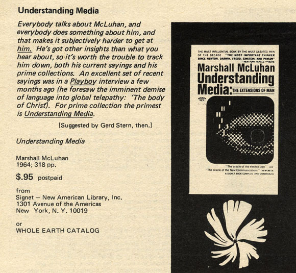 the extension of man by marshall mcluhan essay Any extension, whether of skin, hand, or foot, affects the whole psychic and social complex some of the principal extensions, together with some of their psychic and social consequences, are studied in this book just how little consideration has been given to such matters in the past can be gathered.