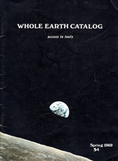 1968 Whole Earth Catalogue Cover