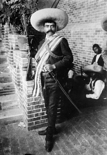 Agrarian leader zapata in hotspots murals for the museum for Emiliano zapata mural