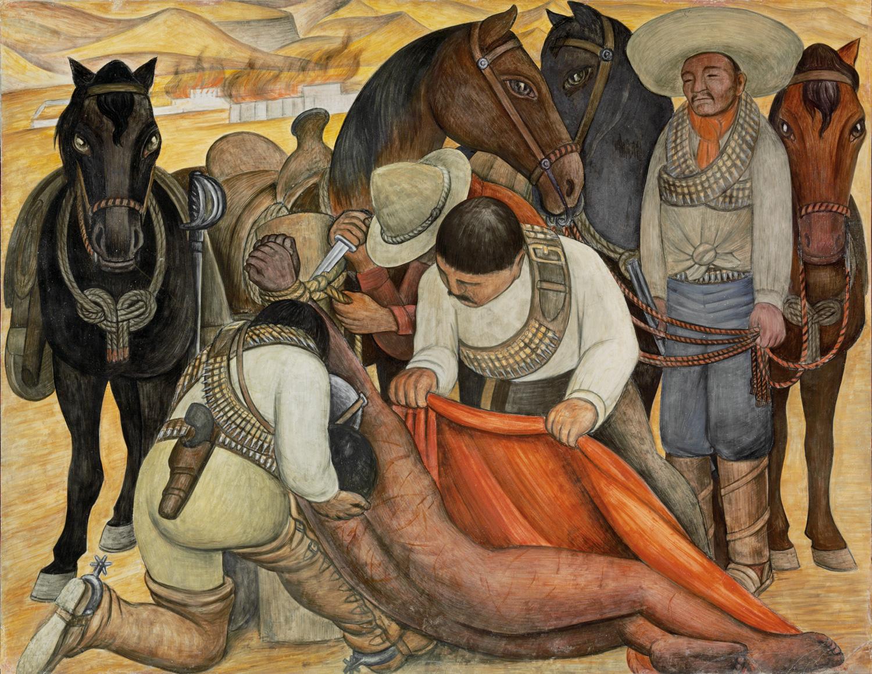 Liberaci n del pe n diego rivera murales para el museo for Arte mural en mexico