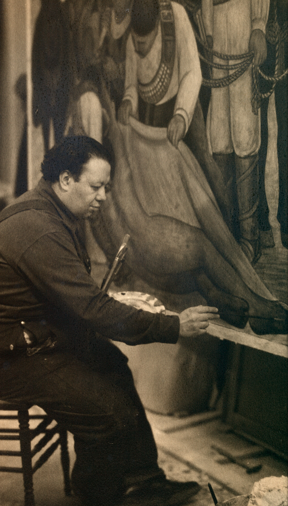 Enter site murals for the museum of modern art for Diego rivera mural new york rockefeller