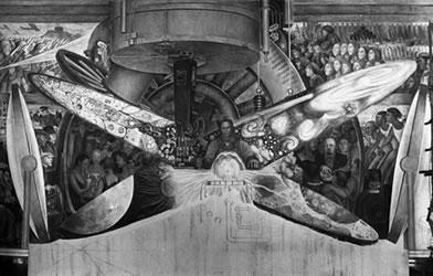 Chronology murals for the museum of modern art for Diego rivera mural new york