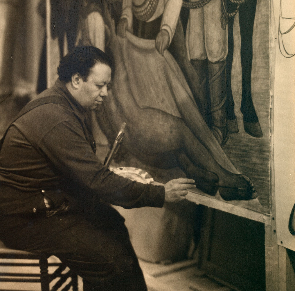 Art history news diego rivera murals for the museum of for Diego rivera mural paintings