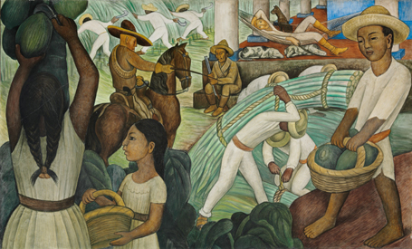 Murals murals for the museum of modern art for Diego rivera mural new york
