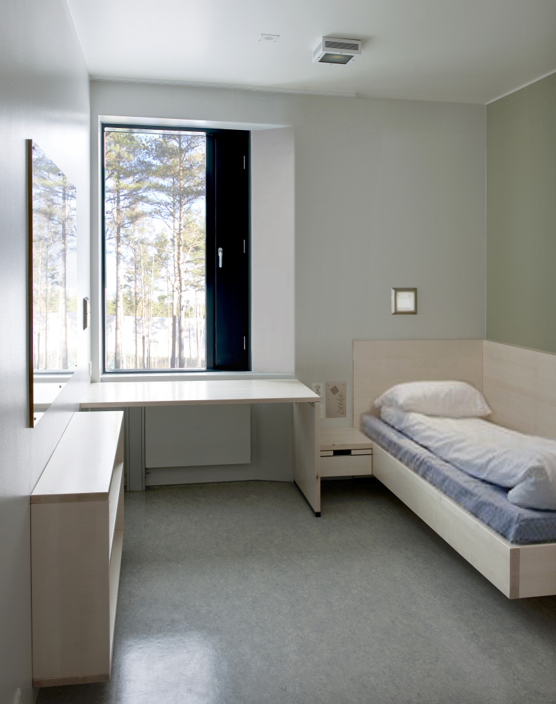 Halden prison cell