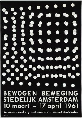 Exhibition poster for <i>Bewogen Beweging</i>