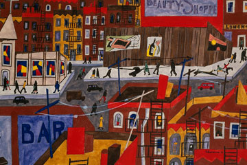 One Way Ticket: Jacob Lawrence's Migration Series
