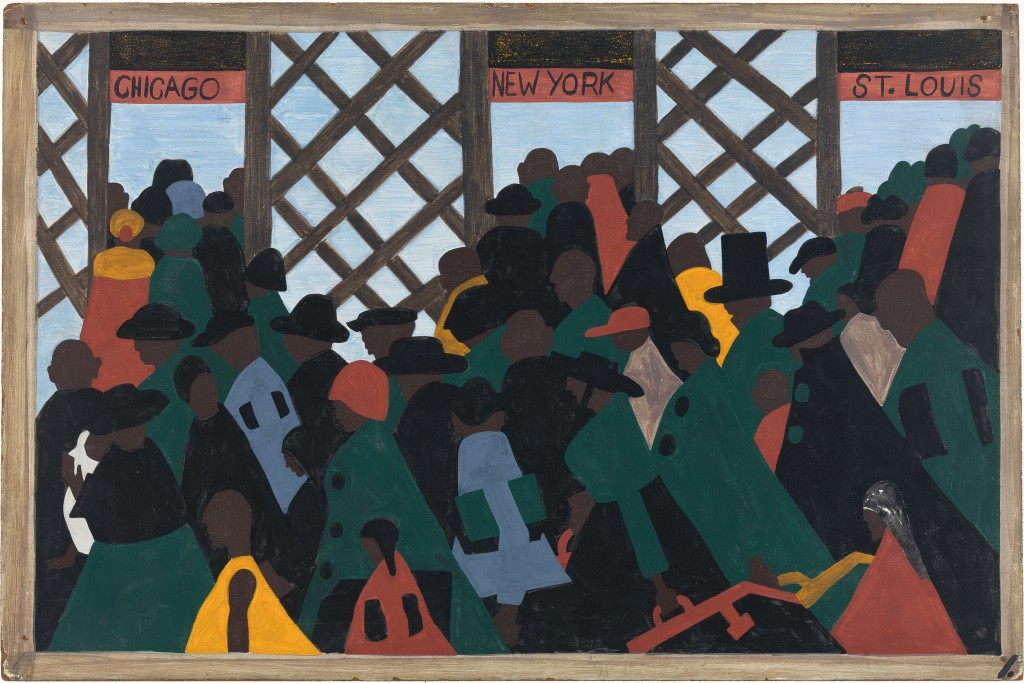 1941 Jacob Lawrence Painting