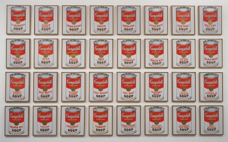 Moma Andy Warhol Campbell S Soup Cans 1962