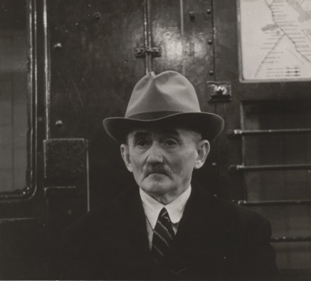 walker evans new york subway