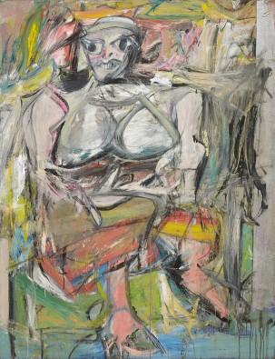 Moma Willem De Kooning Woman I 1950 52