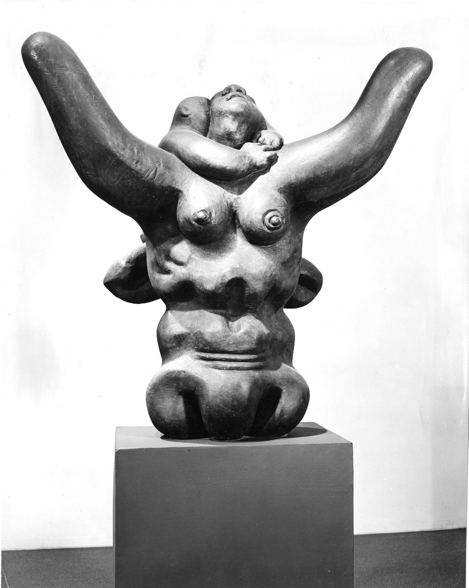 Jacques Lipchitz. Mother and Child, II. 1941-45