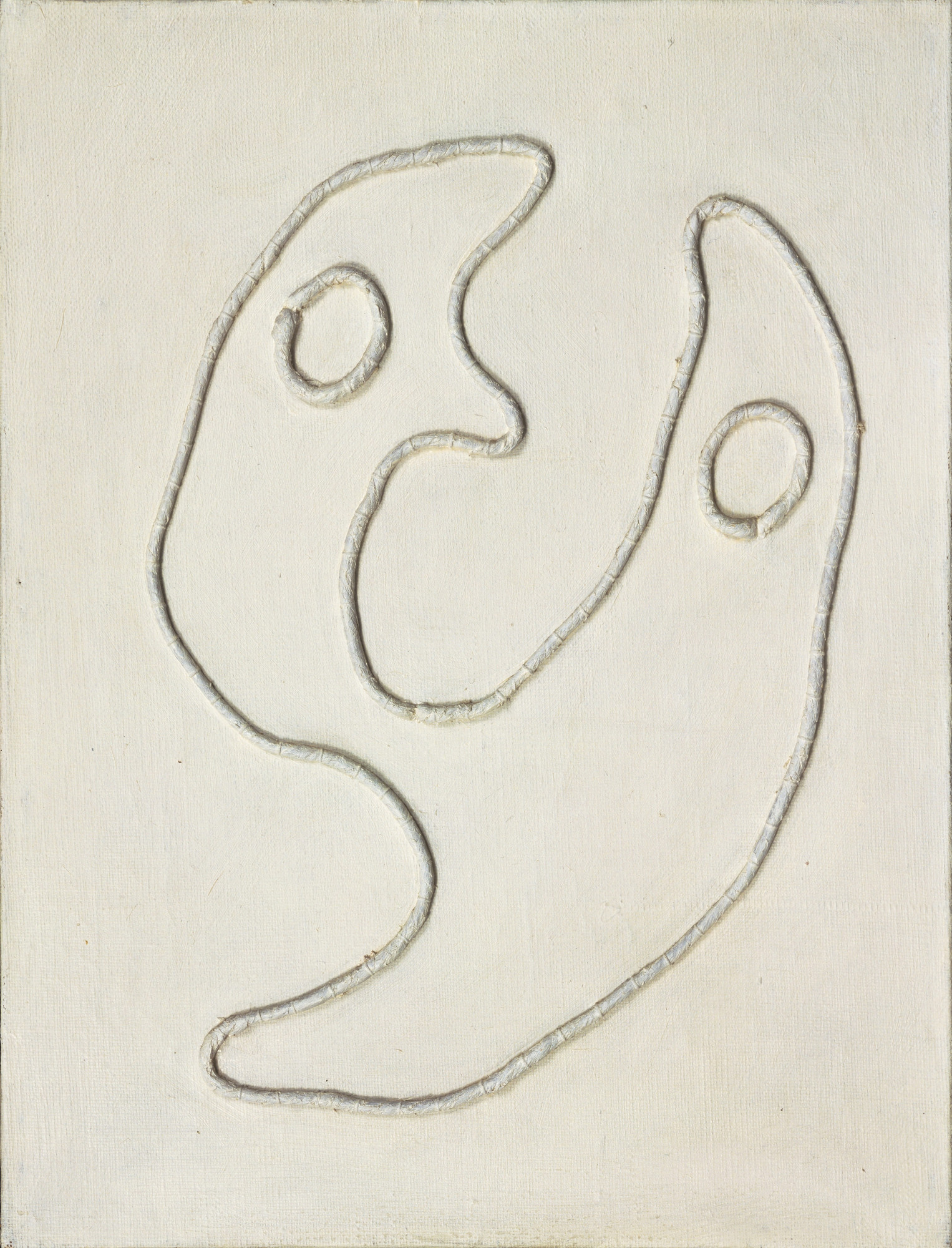 Jean (Hans) Arp. Two Heads. 1927