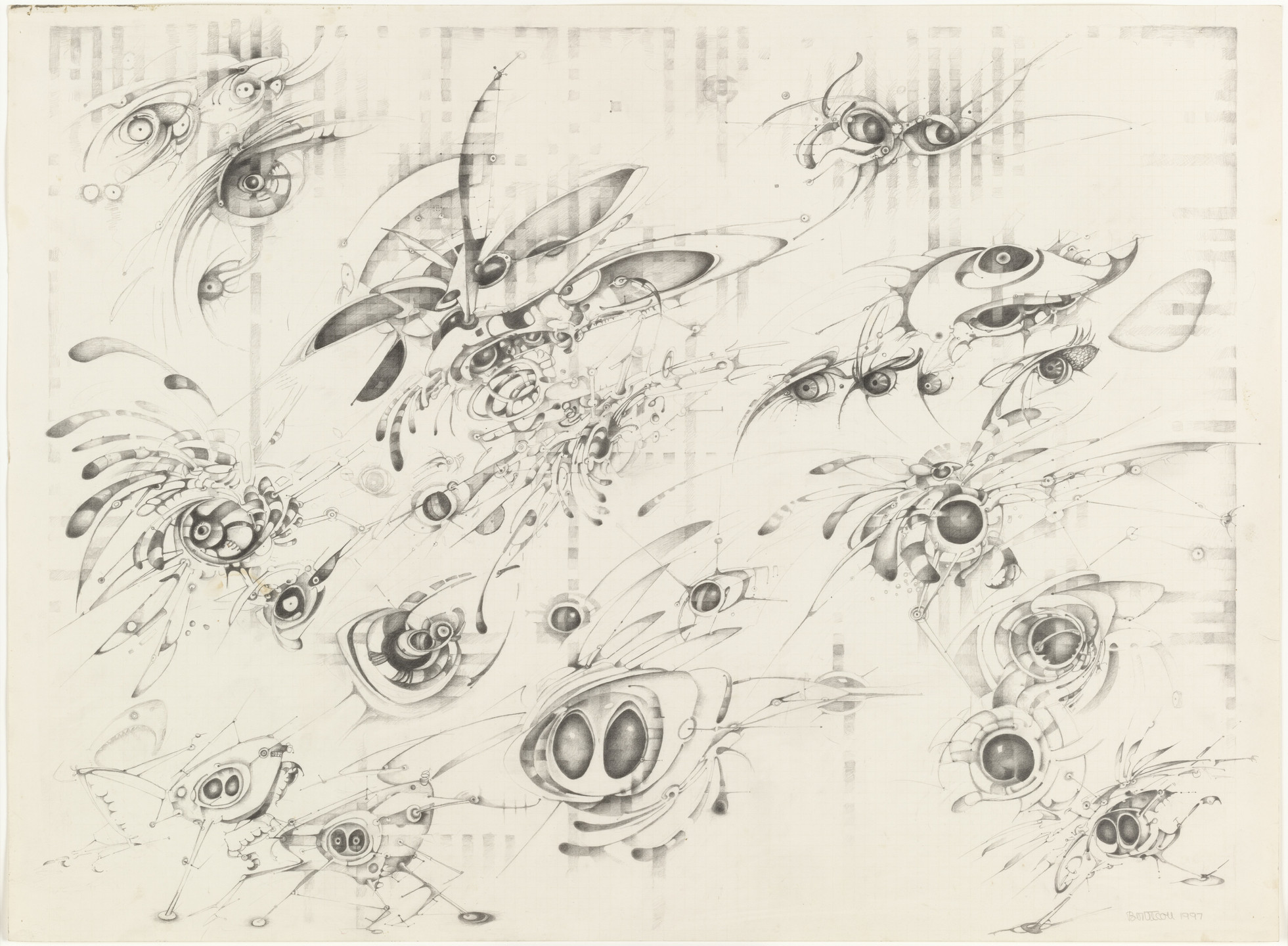 Lee Bontecou. Untitled. 1997