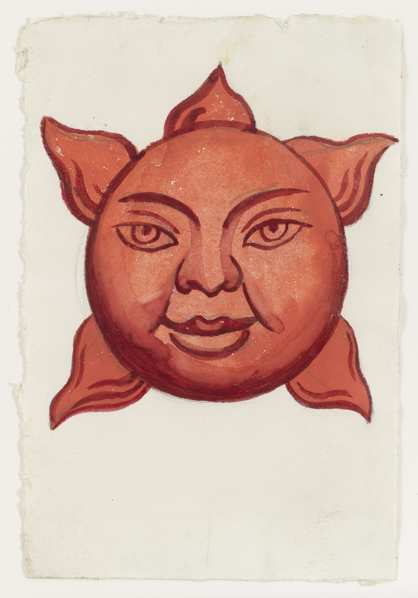Diego Rivera. Sun, design for H.P. (Horsepower). (1927 or 1931?)