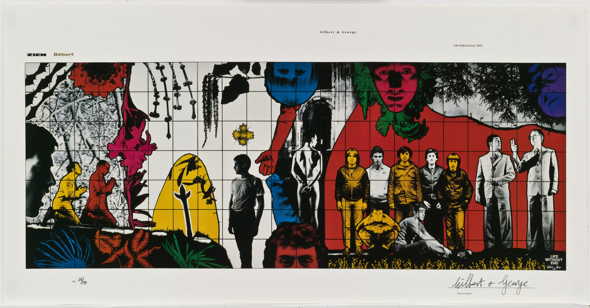 Gilbert & George, Gilbert Proesch, George Passmore. Life Without End. (1982)