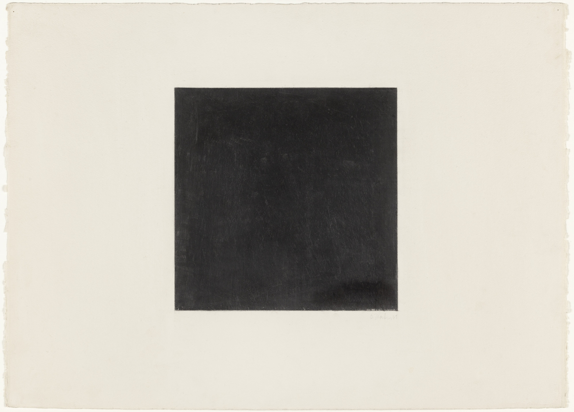 Brice Marden. Untitled. 1969
