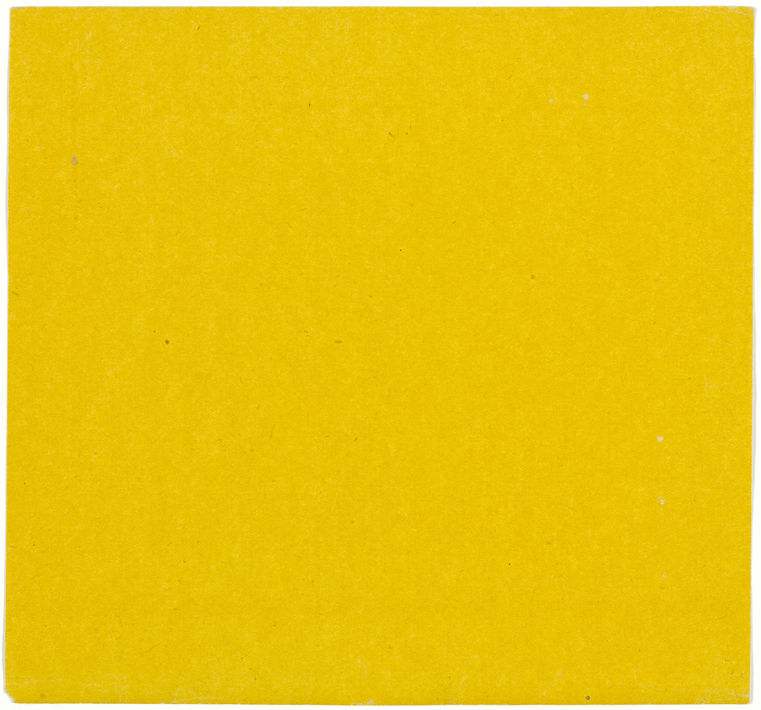 Ellsworth Kelly. Yellow from the series Line Form Color. 1951