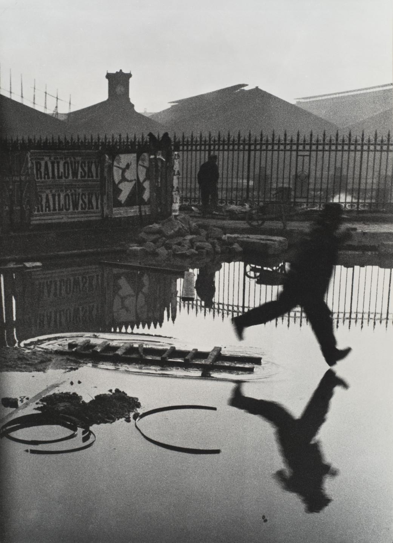 Henri Cartier-Bresson. Behind the Gare St. Lazare. 1932 | MoMA