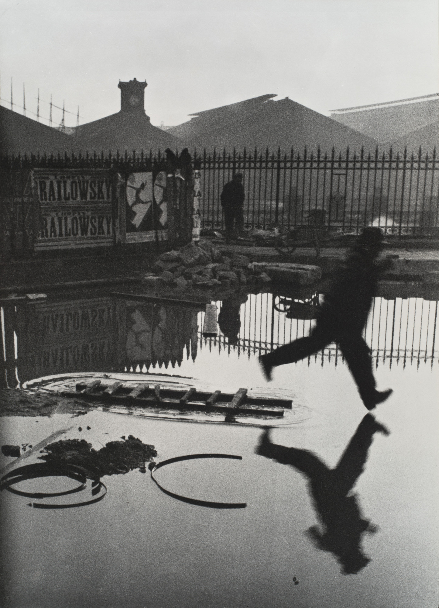 Henri Cartier-Bresson. Behind the Gare St. Lazare. 1932